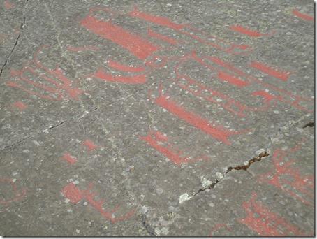 Rock Carvings in Himmelstalund
