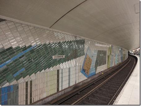 T-Centralen Red Line Platform
